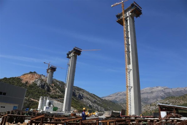 Chinese firm builds first freeway for Montenegro